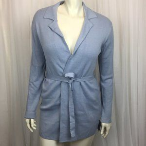 NWT - Blue Mossimo Open Front Cardigan (Size: L)